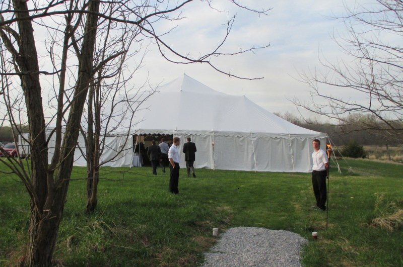 60 X 120 Large White Party Tent
