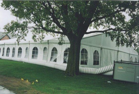 Omaha NE wedding reception tent rental & Tent rental Omaha - Omaha NE wedding tent with cathedral walls and ...