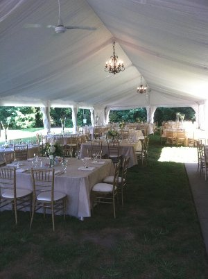 ... Image of inside of tent setup up at Marton Barns for wedding reception. & Tent wedding reception - Arbor Farm Barns