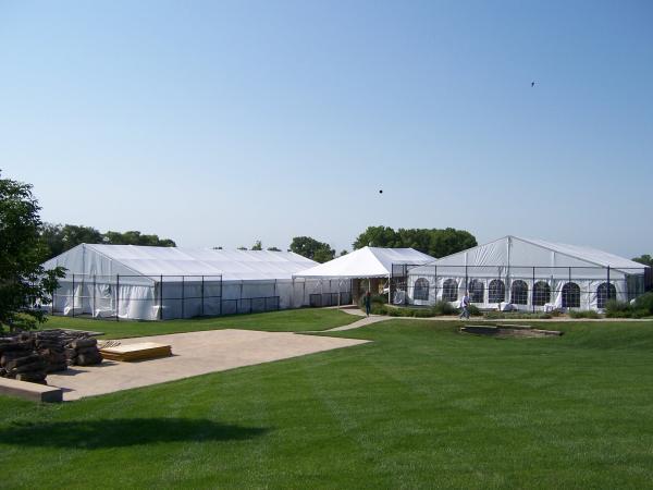 Wedding Tennis Court Reception