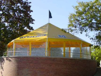 Image of custom made special order tent