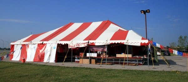 40 X 60 Festival Firework Stand Tent