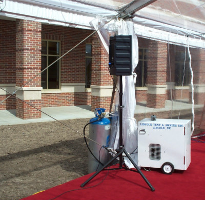 Image of propane heater & EXTRAS - PORTABLE HEATERS