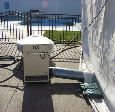 Image of propane heater