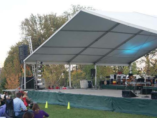 tent for stage cover omaha ne